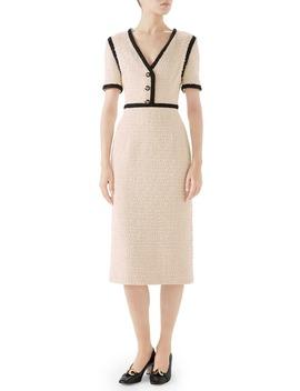 Bouclé Tweed Dress by Gucci