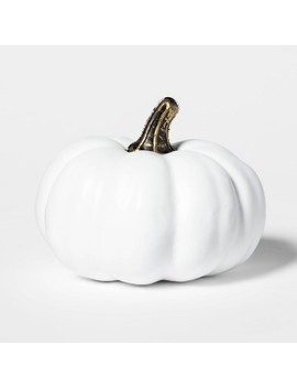 Painted Halloween Pumpkin Mini White   Hyde & Eek! Boutique™ by Shop This Collection