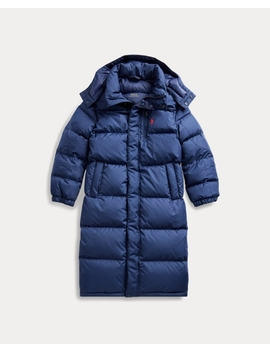 Down Hooded Coat by Ralph Lauren