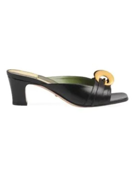 Usagi Leather Sandals by Gucci