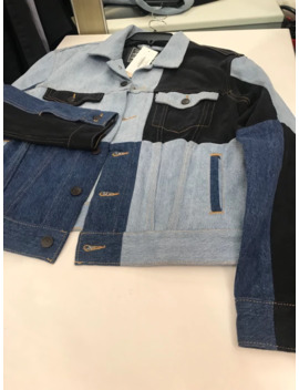 Gosha X Levis Patchwork Denim Jacket by Gosha Rubchinskiy  ×  Levi's  ×