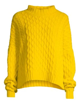 Origano Cable Knit Wool Sweater by Weekend Max Mara