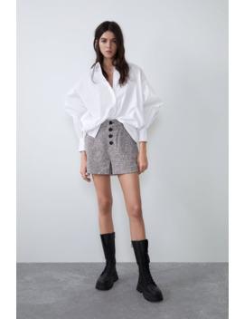 Tweed Shorts by Zara