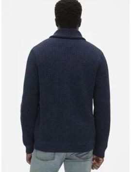 Shaker Stitch Cardigan Sweater by Gap
