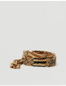 Macramé Belt by Pull & Bear
