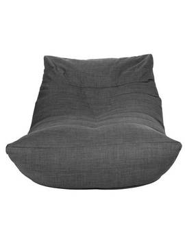 Argos Home Fabric Lounger Chair   Charcoal427/5161 by Argos