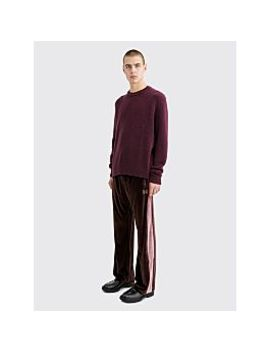 Needles Papillon Embroidery Side Line Track Pants Brown by Très Bien