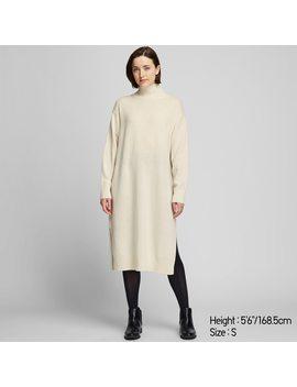 Damen Kleid Aus Woll Mix Mit Stehkragen by Uniqlo