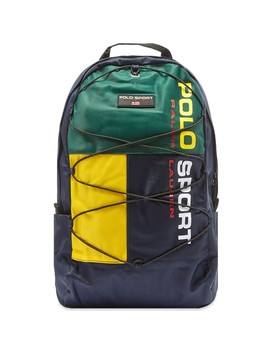 Polo Ralph Lauren Sport Panel Backpack by Polo Ralph Lauren
