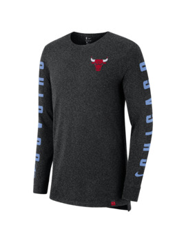 Nike Nba City Edition L/S Dry Elv T Shirt by Champs Sports