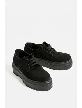 Uo Chunky Flatform Oxford by Urban Outfitters