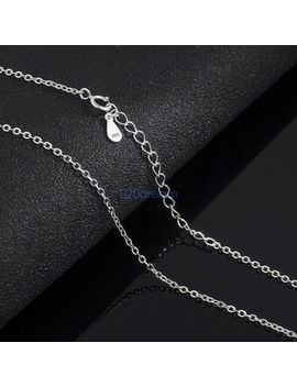 Genuine 925 Sterling Silver Adjustable Chain Necklace All Sizes Stamped 925 Gift by Unbranded
