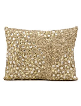 Mina Victory Luminescence Beaded Throw Pillow by Mina Victory