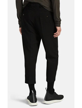 Astaire Wool Blend Crepe Trousers by Rick Owens