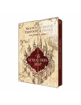 Harry Potter Mauraders Map Notebook Harry Potter Mauraders Map Notebook by Wilko