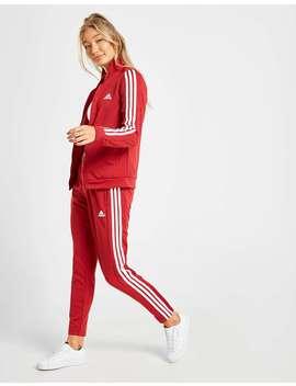 Adidas 3 Stripes Tiro Tracksuit by Jd Sports