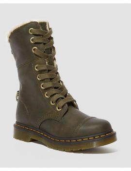 Fur Lined Aimilita by Dr. Martens