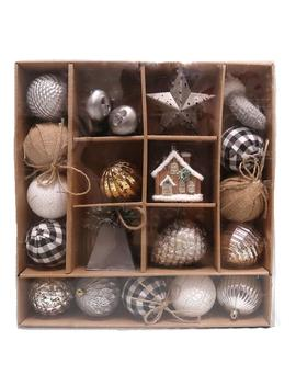 Ashford Meadows Shatterproof Ornament Set (22 Count) by Home Accents Holiday