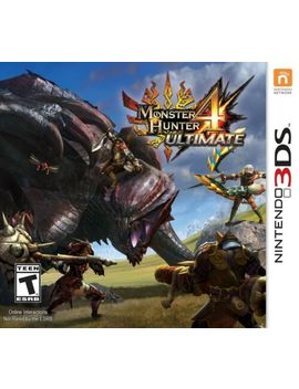 Monster Hunter 4 Ultimate   Nintendo 3 Ds Game Only by Nintendo