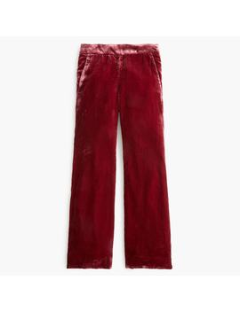 Tall Pull On Peyton Pant In Velvet by J.Crew