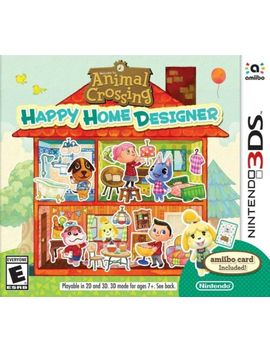 Animal Crossing Happy Home Designer 3 Ds Game by Ebay Seller