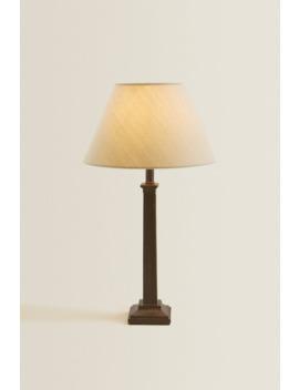 Column Base Lamp by Zara