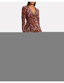 No. 48 Paisley Velvet Dress No. 48 Paisley Velvet Dress by Rotate Birger Christensen Rotate Birger Christensen
