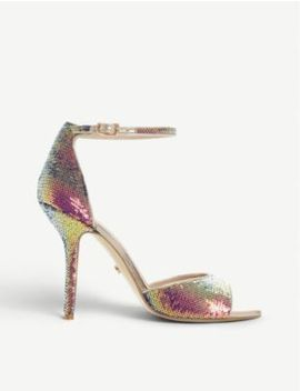 Millionaire Sequinned Heeled Sandals by Dune