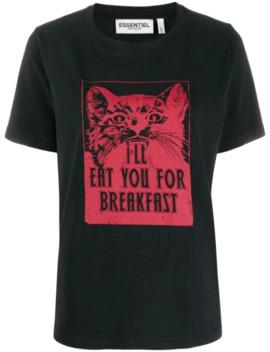 Tilili Printed T Shirt by Essentiel Antwerp