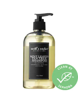 Mint Leaves & Tea Tree Shampoo by Earth's Nectar