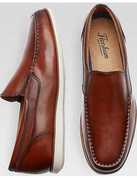 Florsheim Atlantic Venetian Cognac Loafers by Florsheim