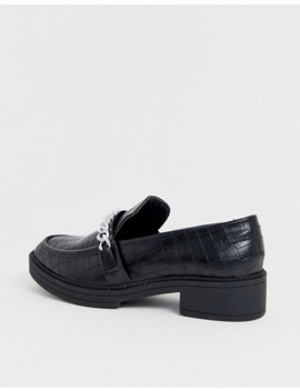 Truffle Collection – Flache, Verzierte Loafer Mit Dicker Sohle by Asos