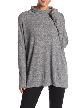 Long Sleeve Ribbed Knit Tunic by Abound