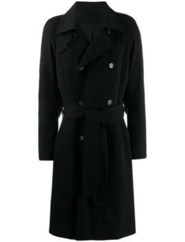 dobbeltradet-frakke by ann-demeulemeester