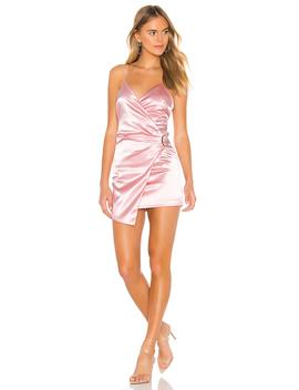 X Chantel Jeffries Alissa Wrap Dress by Superdown