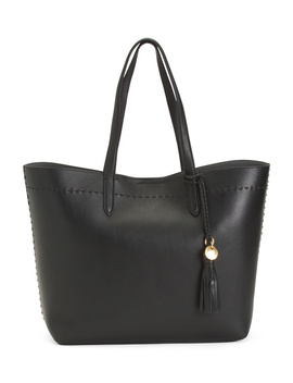 Leather Payson Tote by Tj Maxx