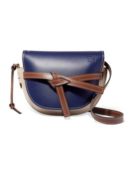 Gate Kleine Schultertasche Aus Leder In Colour Block Optik by Loewe