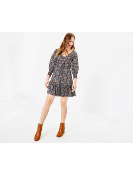 Paisley Sparkle Dress by Oasis