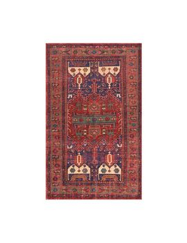 Nicolette Hand Knotted Rug   Warm Multi by Pottery Barn
