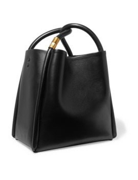 Lotus 28 Leather Tote by Boyy