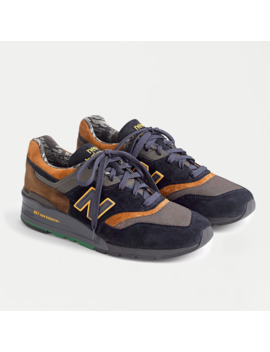 New Balance® X J.Crew Wild Nature 997 Grizzly Bear Sneakers by New Balance