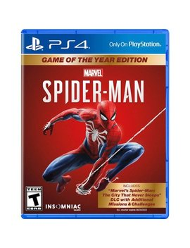An Game Of The Year Edition   Play Station 4 by Marvel's Spide