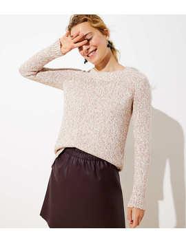 Marled Hi Lo Hem Sweater by Loft