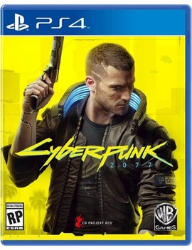 Play Station 4 by Cyberpunk 2077
