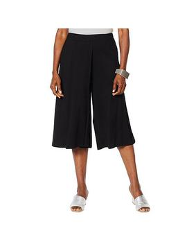 "<Span Class=""Callout Exclusive"">Exclusive!</Span>                  Wynne Layers Wide Leg Culotte Pant by Marlawynne"