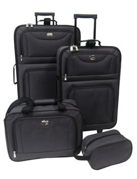 Jet Stream 4 Piece Luggage Set by Walmart