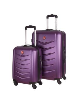 Canada Luggage 2 Piece Hardshell Luggage Spinner Set by Walmart