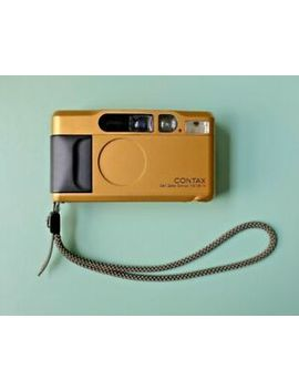 Contax T2   Gold   35mm Camera   G2 T4 Yashica Ricoh by Ebay Seller