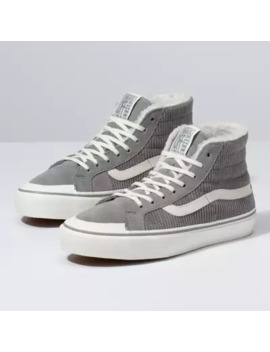 Corduroy &Amp; Sherpa Sk8 Hi 138 Decon Sf by Vans