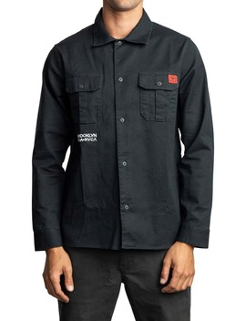 Smith Street Stretch Shirt Jacket by Rvca